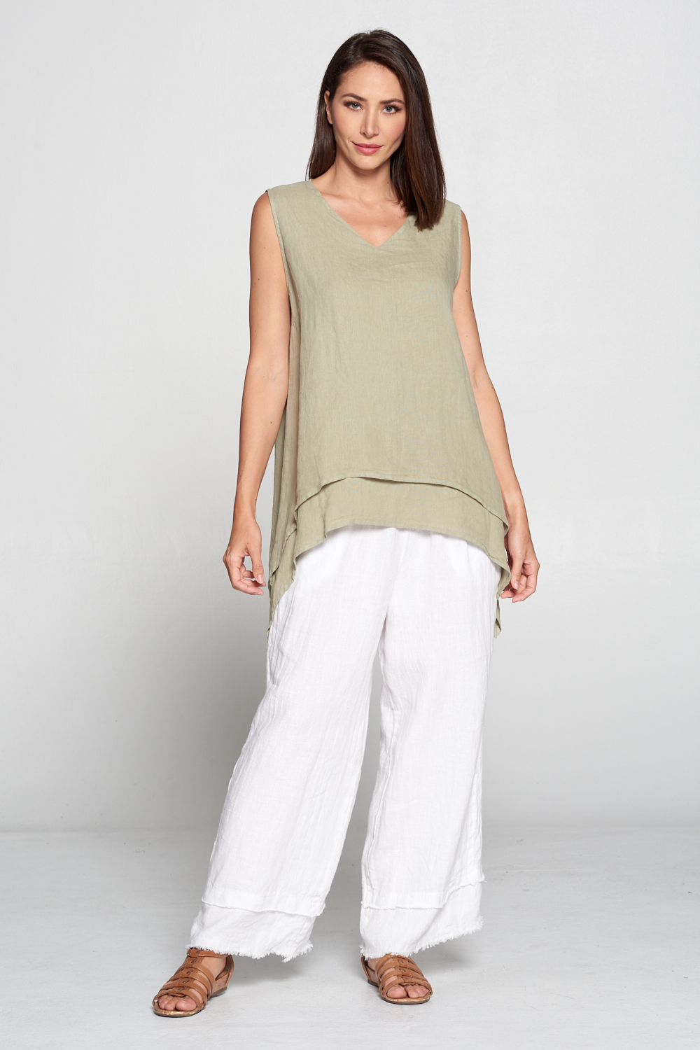 FBT93<br/>DOUBLE LAYER TANK TOP